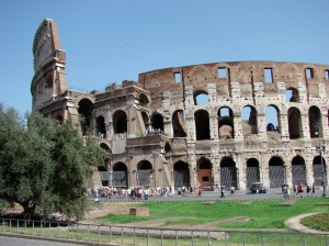 The colosseum in all its glory.