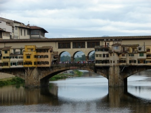 The only bridge in Italy not destroyed during WWII.